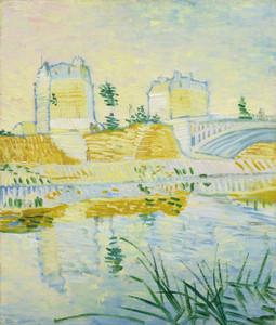 Art Prints of The Seine with the Pont de Clichy by Vincent Van Gogh