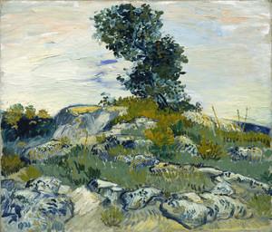 Art Prints of The Rocks by Vincent Van Gogh