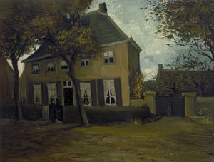 Art Prints of The Vicarage at Nuenen by Vincent Van Gogh