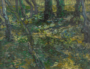 Art Prints of Undergrowth I, 1889 by Vincent Van Gogh