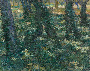 Art Prints of Undergrowth II by Vincent Van Gogh