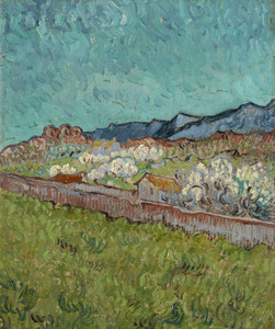 Art Prints of View of the Alpilles by Vincent Van Gogh