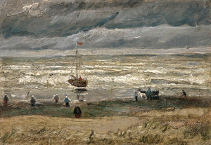 Art Prints of View of the Sea at Scheveningen by Vincent Van Gogh