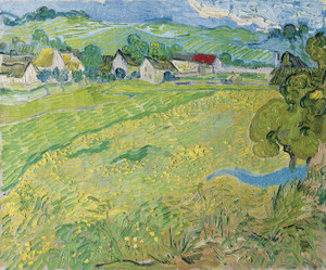 Art Prints of View of Vessenots Near Auvers by Vincent Van Gogh