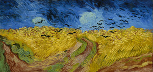 Art Prints of Wheatfield with Crows by Vincent Van Gogh