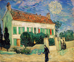 Art Prints of White House, Night by Vincent Van Gogh