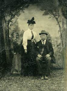 Art Prints of Jane and Joe Doe, Tintype 6, Vintage Tintype