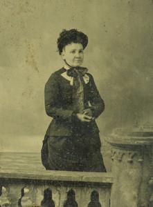 Art Prints of Portrait of a Lady, Tintype 7, Vintage Tintype