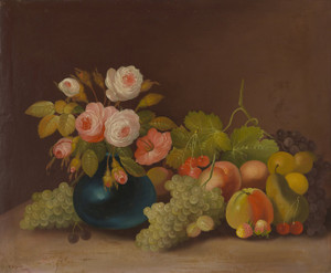 Art Prints of Cabbage, Roses and Fruit by W. B. Gould