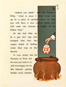 Art Prints of Humpty Dumpty, Page 7 by W.W. Denslow, Children's Book