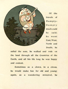 Art Prints of Humpty Dumpty, Page 11 by W.W. Denslow, Children's Book