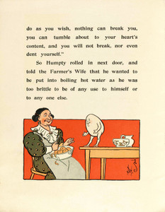 Art Prints of Humpty Dumpty, Page 6 by W.W. Denslow, Children's Book