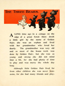 Art Prints of The Three Bears, Page 3 by W.W. Denslow, Children's Book