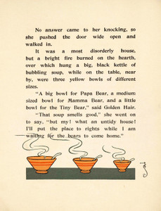 Art Prints of The Three Bears, Page 5 by W.W. Denslow, Children's Book