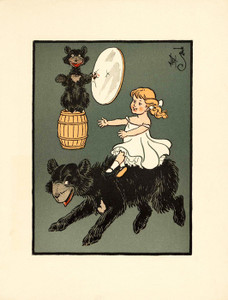 Art Prints of The Three Bears, Page 11 by W.W. Denslow, Children's Book