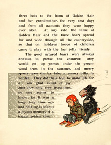 Art Prints of The Three Bears, Page 14 by W.W. Denslow, Children's Book