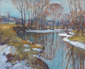 Art Prints of Branch Creek by Walter Baum