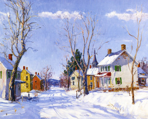 Art Prints of Pennsylvania Dutch Village by Walter Baum