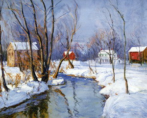 Art Prints of A Perkiomen Mill by Walter Baum