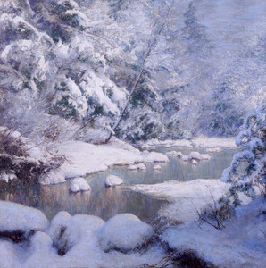 Art Prints of Silent Snow by Walter Launt Palmer