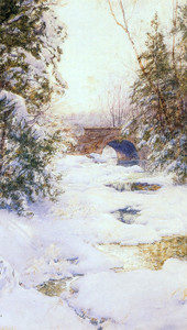 Art Prints of The Brook in Winter by Walter Launt Palmer