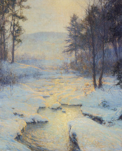 Art Prints of Winter Sunlight by Walter Launt Palmer