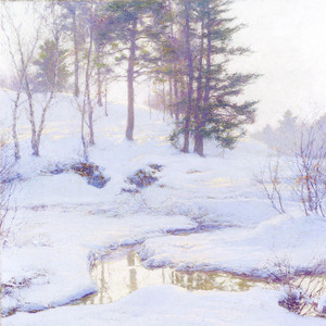 Art Prints of Winter Reflections by Walter Launt Palmer