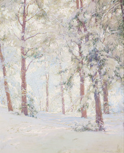 Art Prints of The Forest in Winter by Walter Launt Palmer
