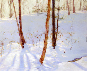 Art Prints of Winter Landscape by Walter Launt Palmer