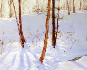 Art Prints of Winter Landscape by Walter Launt Palmer
