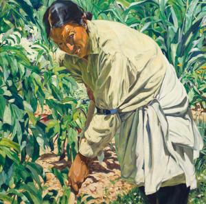 Art Prints of In the Garden by Walter Ufer