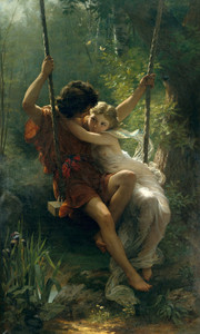 Art Prints of Springtime by William Bouguereau