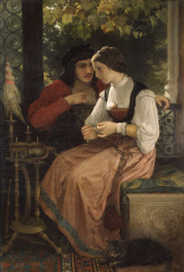 Art Prints of The Proposal by William Bouguereau