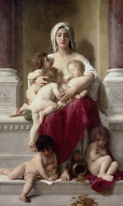 Art Prints of Charity by William Bouguereau