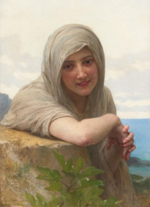 Art Prints of French Souvenir by William Bouguereau
