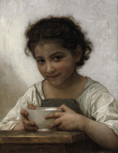 Art Prints of Milk Soup by William Bouguereau