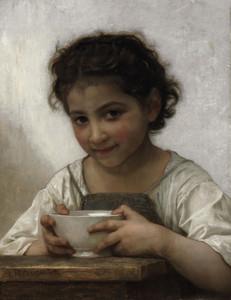 Art Prints of Milk Soup by William Bouguereau