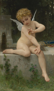Art Prints of Love the Butterfly by William Bouguereau