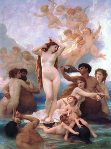 Art Prints of The Birth of Venus by William Bouguereau