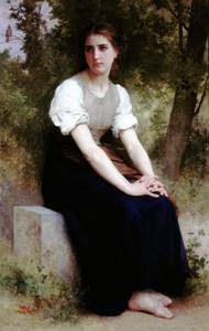 Art Prints of The Song of the Nightingale by William Bouguereau