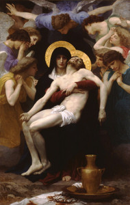 Art Prints of Pieta by William Bouguereau