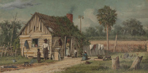 Art Prints of Life Around the Cabin by William Aiken Walker