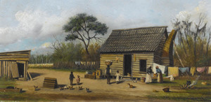 Art Prints of Farmyard by William Aiken Walker
