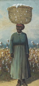 Art Prints of Woman Cotton Picker by William Aiken Walker