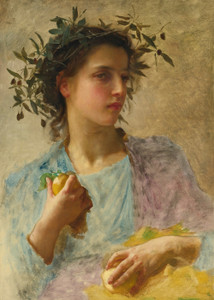 Art Prints of Summer by William Bouguereau