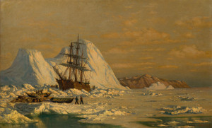Art Prints of An Incident of Whaling by William Bradford