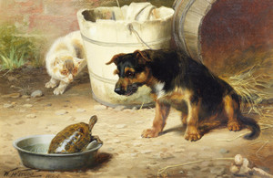 Art Prints of An Unwelcome Guest by William Henry Hamilton Trood