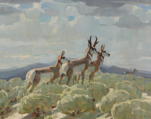Art Prints of On the Old Plains by William Herbert Dunton