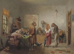 Art Prints of Divorce by William Holbrook Beard