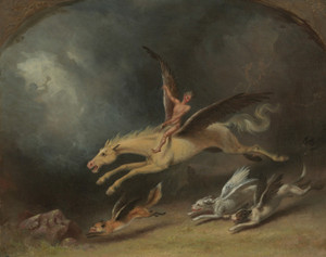 Art Prints of A Fox Hunter's Dream by William Holbrook Beard